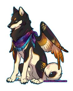 Gen the Shiba by Majime on deviantART.....modify this to look like Freya and it could go with the Corgi tat