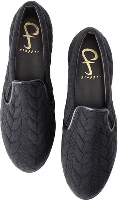 RUNWAY Channel 【Flapper】カジュアルスリッポンシューズ / knit slip on on ShopStyle
