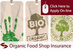 shop insurance for organic foods shops