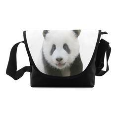 Panda Bear Crossbody Bag/Large (Model 1631)