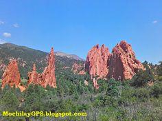 Garden of the Gods  es un parque natural en el estado de Colorado situado a las afueras de la ciudad de Colorado Springs .