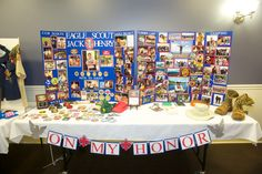 """Eagle Scout COH for Jack - Achievements Display and """"On My Honor"""" Banner"""