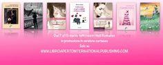 Ultimo giorno per approfittare della nostra #promozione  Ancora per oggi, i nostri titoli romance in versione cartacea in promozione solo sul nostro sito  www.libroapertointernationalpublishing.com
