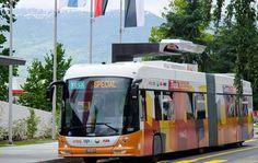 شارژ اتوبوسهای برقی در 15 ثانیه