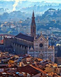 A surrealistic Florence, Italy.