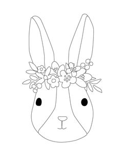 Easter Bunny Colouring, Bunny Coloring Pages, Spring Coloring Pages, Colouring Pages, Coloring Pages For Kids, Free Coloring, Coloring Books, Easter Coloring Sheets, Spring Drawing