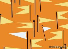Castle Peeps by Lizzy House Flags Orange