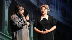 Hayato Kamie (Rigoletto), Da Mi Lee (Giovanna) - foto di Roberto Ricci