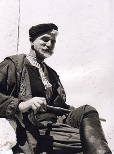 Man from Sfakia, Crete, Greece - Nelly's 1939