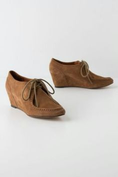 89ab325ce2a suede moccasin wedges depending on price (if I can find them on sale) these  may be my new fall shoes!