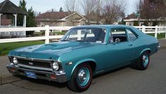 1968 COPO Nova SS #4 of 50 ordered by Fred Gibb