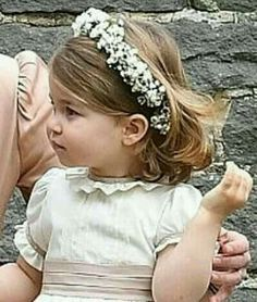 May Princess Charlotte was a flower girl / bridesmaid at her Aunt Pippa's wedding at St Mark's Church where Pippa married James Matthews, Englefield Green, Berkshire, England.