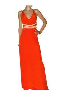 Bally Silk Cady Leather Strap Dress - Lyst