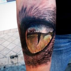 Elephant Tattoo / Predator Eye Tattoo Best Tattoos Ever - Tattoo by Stefano Alcantara - 02 Cool Forearm Tattoos, Great Tattoos, Beautiful Tattoos, Tattoos For Guys, Amazing Tattoos, Mens Tattoos, Ojo Tattoo, Tattoo Henna, Kanji Tattoo