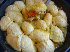 Fall Chicken Dumpling Pot Pie recipe from Tia Maria's Blog