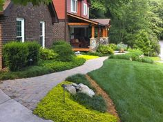 A beautiful lawn always boosts curb appeal