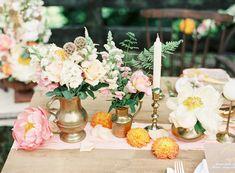 Style Shooting Hochzeit mit Pfirsichfarben   Friedatheres