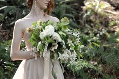 sort of insane but i like it - seattle wedding flowers by finch and thistle event design (thistles & evergreens)