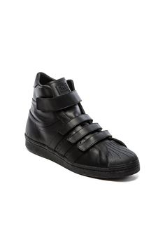 adidas by JUUN J Promodel 80s Hi JJ in Black Black Black | REVOLVE