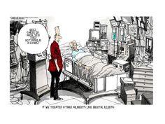 Editorial cartoon health depression mental illness Political and Editorial Cartoons - The Week