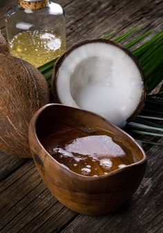 Simple Hair Growth Treatments: Coconut oil is used for hair massage and conditioning. It penetrates through the hair strands promoting hair growth.