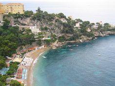 Cap d'Ail coast in France