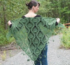 #141 Alpine Shawl - downloadable pattern in English