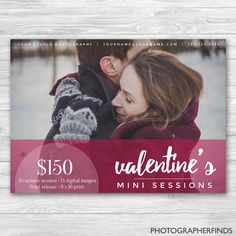 7x5 Pink Couples Template for Valentine's Day