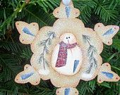 Christmas Tree Toppers, Christmas Snowman, Winter Christmas, Christmas Tree Ornaments, Christmas Decorations, Ornaments Ideas, Christmas Ideas, Snowman Crafts, Holiday Crafts