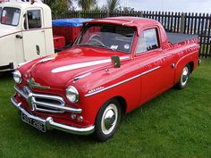 Vauxhall Velox pick-up. Vauxhall is a General Motors (GM) brand in the United Kingdom