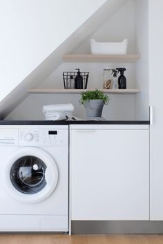 Small Smart Laundry Space