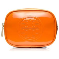 Tory Burch Small Classic Cosmetic Case found on Polyvore