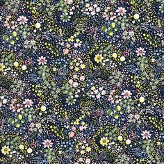 """Liberty of London Autumn Winter 2017 Collection: Garden of Temptation.Approximately 53″ wide. 100% cotton, Tana Lawn. Fabric is sold in 1/4 yard (9"""") increment"""