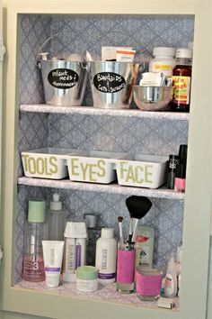 Medicine Cabinet | Makeup Organizers You'll Surely Love
