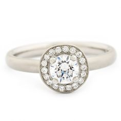 The Original Halo Engagement Ring