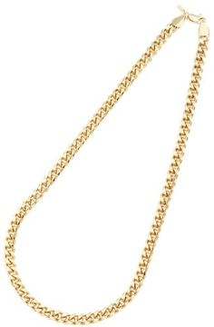 Men's Yellow Gold Plated 9mm Cuban Curb Chain Link Necklace - Lifetime Warranty *** Check out the valentines gift ideas by visiting the link.