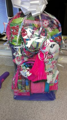 Homemade gift baskets ideas google search gift boxes and gift i basket full of trendy stuff for a teens bday negle Image collections