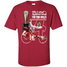 0e0941242 Custom Ultra Cotton T-Shirt. Cotton TeeAlabama Crimson TideTeesT ShirtYouthSupreme  ...