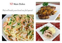 Parade's Community Table ~ 10 Main Dishes That Will Make Your Loved One Feel Special