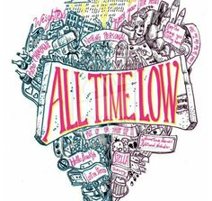 Song Collage of All Time Low