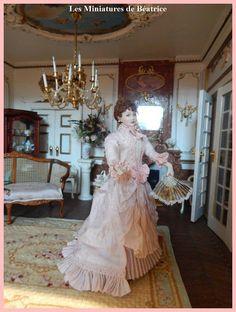 Eléonore poupée miniature 1883 par Beatrice5804 sur Etsy