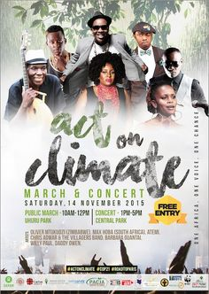 Join Oxfam and partners in Nairobi on 14th November 2015 in raising African voices as we #ActOnClimate #eyesonParis