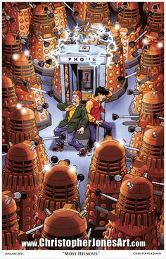 Funny pictures about Bill and Ted make a mistake. Oh, and cool pics about Bill and Ted make a mistake. Also, Bill and Ted make a mistake. Dr Who, Doctor Who, Christopher Jones, Dalek, Geek Art, Cultura Pop, Looks Cool, Superwholock, Cool Art