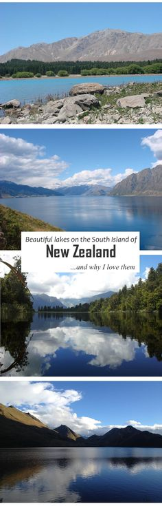 New Zealand, the most beautiful country in the world and the country that stole my heart. Check out these gorgeous lakes and you'll understand why!