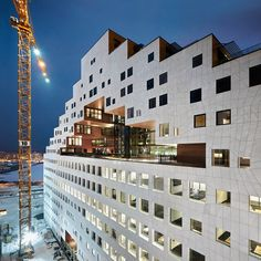 A-Lab adds pixelated tower to Oslo's new waterfront development Like this.