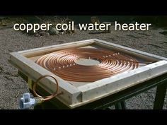 This is a great DIY solar powered water heater. This simple design for a batch type water heater that makes use of a thermosiphon loop to transport wa Solar Energy Panels, Best Solar Panels, Solar Powered Water Heater, Diy Solar Pool Heater, Homemade Pool Heater, Solaire Diy, Alternative Energie, Diy Heater, Materiel Camping