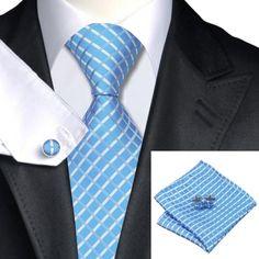 Подарочный галстук голубой в ромбик - купить в Киеве и Украине по недорогой цене, интернет-магазин