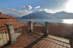 Terrace overlooking Lake Como