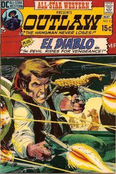 All-Star Western Vol 2 #5 (1971). Cover art: The peerless Neal Adams