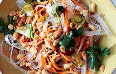 Bean Thread Noodles with Pickled Vegetables - Bon Appétit